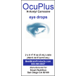 OcuPlus, N-acetyl Carnosine, eye drops, 2 x 5ml tubes, eye health, Smart Nutrition